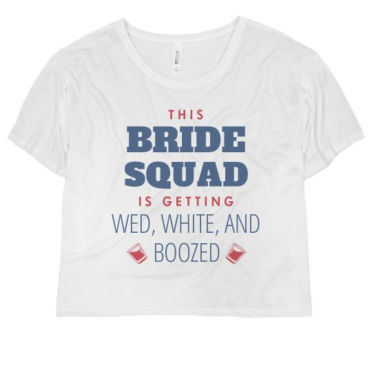 Bride Squad Getting Boozed