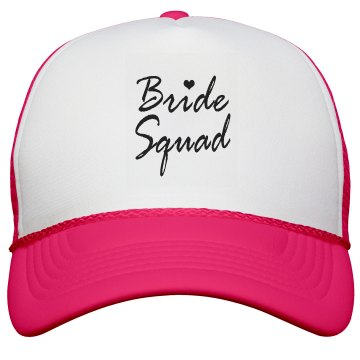 Bride Squad Hat