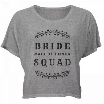 Bride Squad MOH Bachelorette Tee
