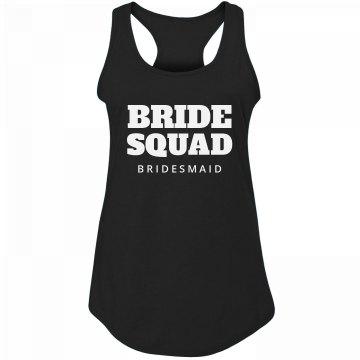 Bride Squad Tanks Bachelorette