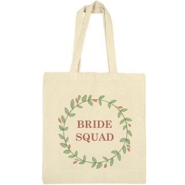 Bride Squad Tote