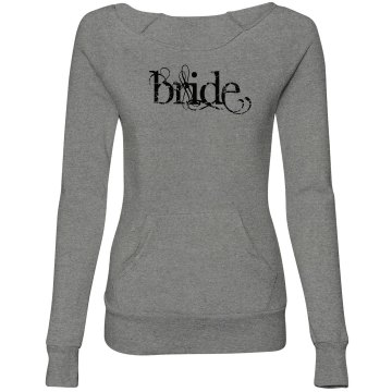 Bride sweater