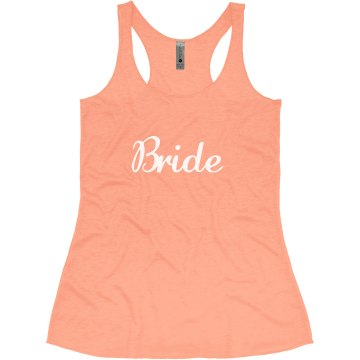 Bride Tank Top - day of