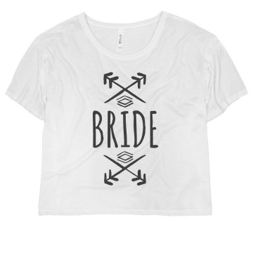 Bride Text With Arrows
