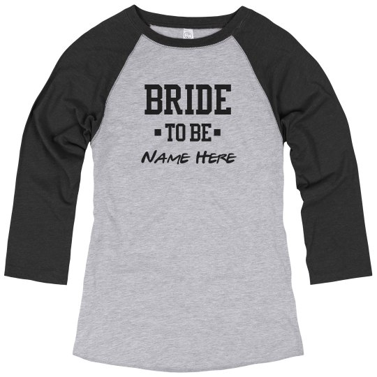 Bride To Be Custom Name Matching Couples Gift