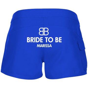 Bride To Be Custom Swim