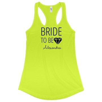 Bride To Be Diamond