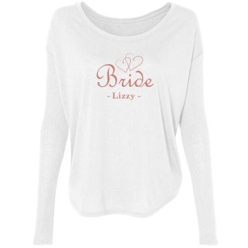 Bride To Be Double Hearts