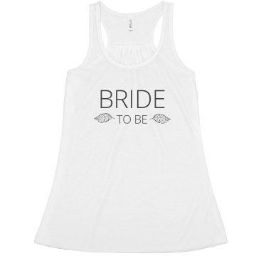 Bride to Be Feather