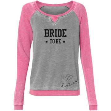Bride To Be Heart Sketch