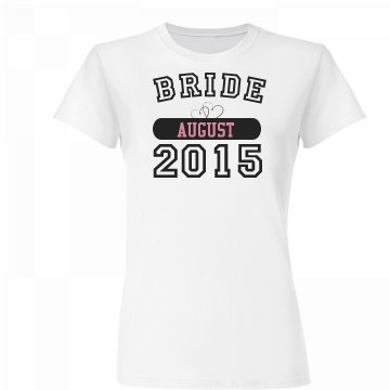 Bride To Be Heart Tee