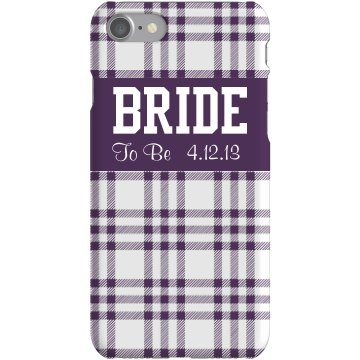 Bride To Be iPhone Case