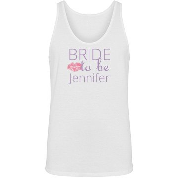Bride To Be Kiss