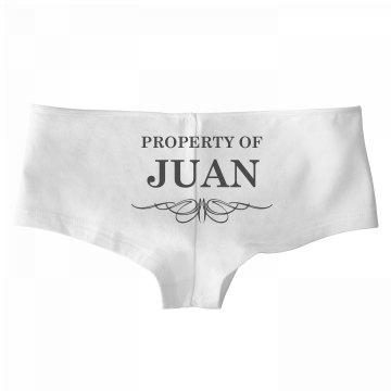 Bride To Be Property Of Juan