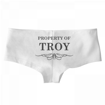 Bride To Be Property Of Troy