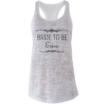 Bride To Be Scroll