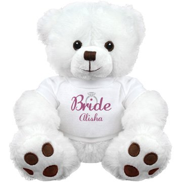 Bride To Be Stuffed Bear