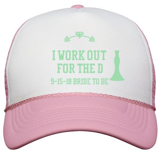 Bride to be trucker cap