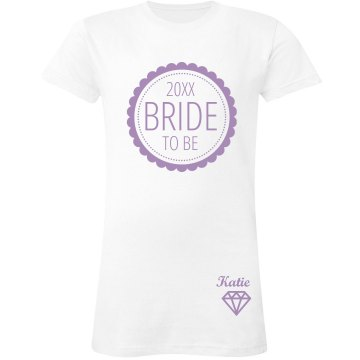 Bride To Be w/Diamond