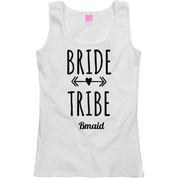 Bride Tribe Arrow Bmaid