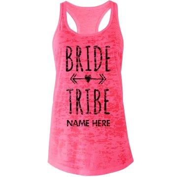 Bride Tribe Arrow Heart