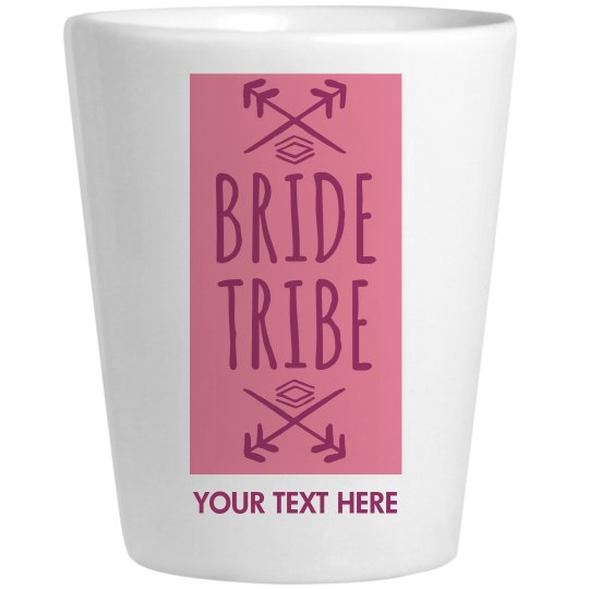 Bride Tribe Arrow Shot Glass