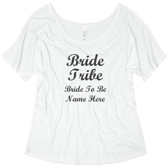 Bride Tribe Custom Tee