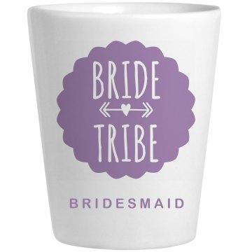 Bride Tribe Matching Shot Glass
