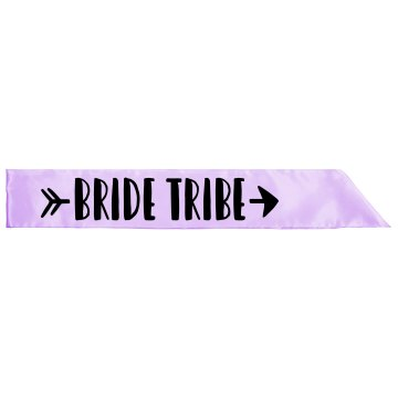 Bride tribe Satin Sash