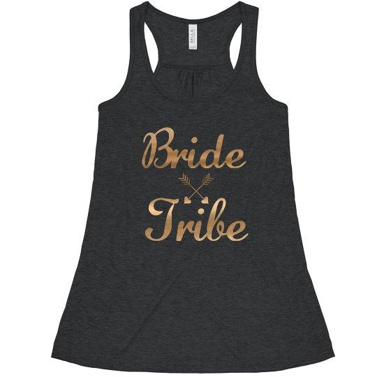 Bride Tribe Tank Top, bachelorette tank tops
