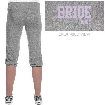 Bride Varsity Text