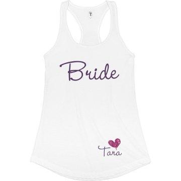 Bride w/ back