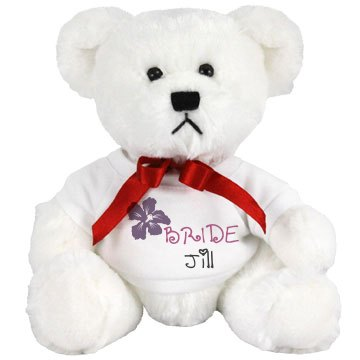 Bride w/ Name Teddy