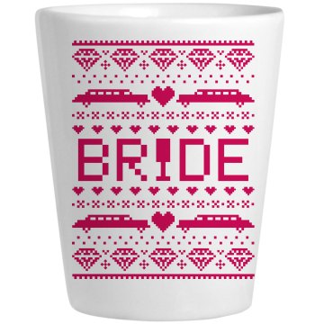 Bride Winter Shotglass