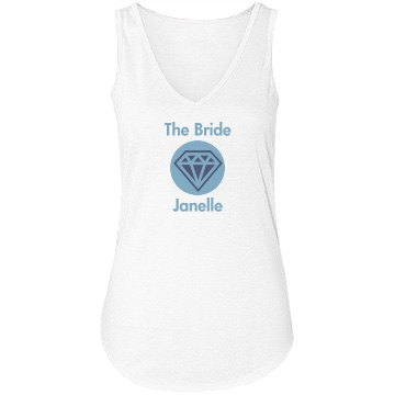 Bride With Diamond Tee