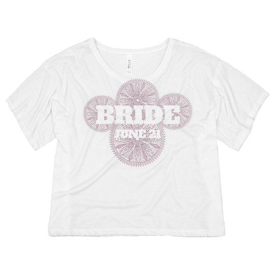 Bride With Lacy Circles