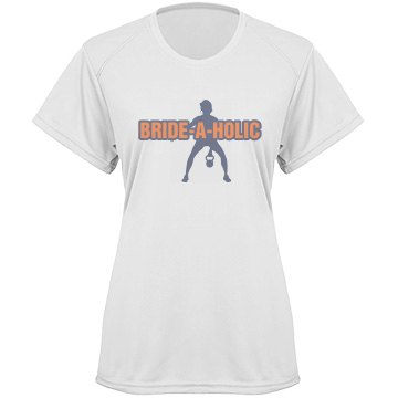 Brideaholic Workout Tee