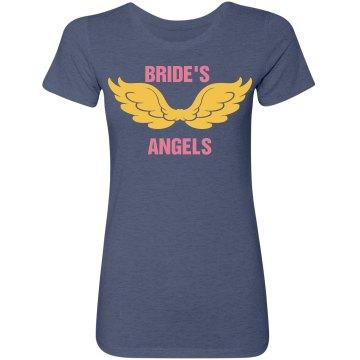 Bride's Angels Bachelorette Tshirt