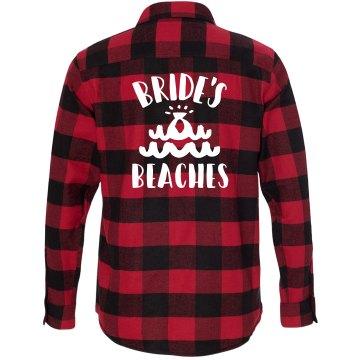 Bride's Beaches Flannel Shirt