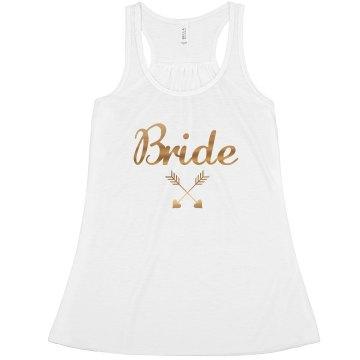 Bride's, Bride Tribe Tank Top, bachelorette Tank top
