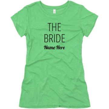 Bride's Broads Custom Matching
