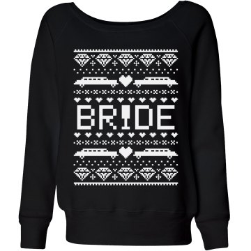 Bride's Christmas Sweater