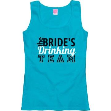 Bride's Drinking Team