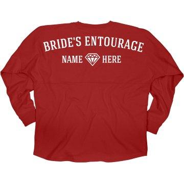 Bride's Entourage Diamond
