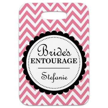 Bride's Entourage Tag