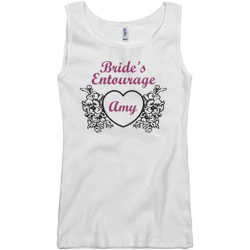 Brides Entourage Tank