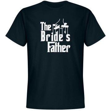Bride's father shirt