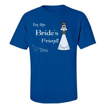 Bride's friend