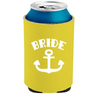 Brides Mates Neon Koozie Party