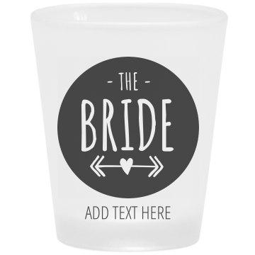 Bride's San Francisco Bachelorette Shot Glass